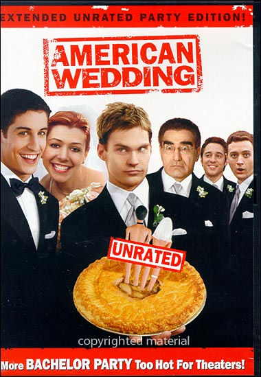 American wedding bachelor party scene unrated